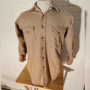Vintage Pendleton Outdoors Man Virgin Wool Shirt